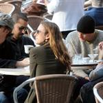 Edward Norton, Woody Harrelson, Olivier Martinez and David Blaine in Venice for Salma Hayek's wedding 37522