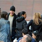 Edward Norton, Woody Harrelson, Olivier Martinez and David Blaine in Venice for Salma Hayek's wedding 37514