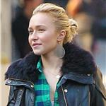 Hayden Panettiere gets a tattoo at the Wooster Street Social Club in NYC 100845