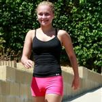 Hayden Panettiere out for a run with Harry Morton 45790