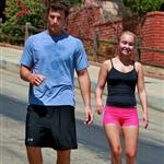 Hayden Panettiere out for a run with Harry Morton 45783