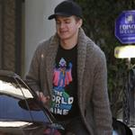 Hayden Christensen leaving Rachel Bilson's house 79527