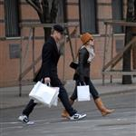 Hayden Christensen Rachel Bilson shopping in Soho 17514