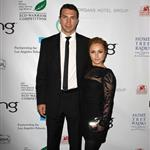 Hayden Panettiere with short hair cut and Wladimir Klitschko at Avatar Earth Day celebration 59432