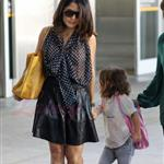 Salma Hayek and daughter arrive in Toronto for TIFF 2011 93869