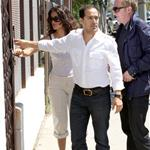 Salma Hayek Francois Henri Pinault with Valentina in West Hollywood July 2011 88983