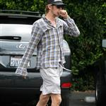 Hairy Hayden Christensen running errands in LA  22735