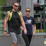 Heidi Klum spotted walking in Manhattan with her bodyguard after their morning jog 124775
