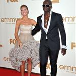 Heidi Klum and Seal at the Emmy Awards 2011 94492