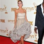 Heidi Klum and Seal at the Emmy Awards 2011 94495