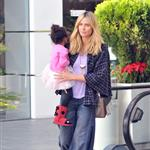Heidi Klum and Seal out with their children on January 7th 103562