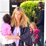 Heidi Klum and Seal out with their children on January 7th 103565