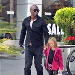 Heidi Klum and Seal out with their children on January 7th 103566