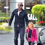 Heidi Klum and Seal out with their children on January 7th 103567