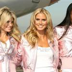 "Heidi Klum with Victoria""s Secret models 15646"