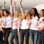 "Heidi Klum with Victoria""s Secret models 15645"