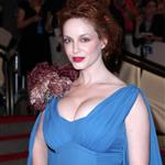 Christina Hendricks at the Costume Institute Gala 2010  60206