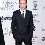 Tom Hiddleston at the Tribeca Film Festival screening of The Avengers 112917