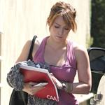 Hilary Duff heads to meeting with CAA folder 67686