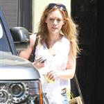 Hilary Duff leaves the gym 67687