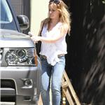 Hilary Duff leaves the gym 67689