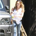 Hilary Duff leaves the gym 67690