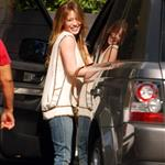 Hilary Duff leaves hair salon 69795