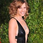 Hilary Swank shows her body at the Vanity Fair Oscar party 2010  56512