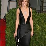 Hilary Swank shows her body at the Vanity Fair Oscar party 2010  56517