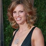 Hilary Swank shows her body at the Vanity Fair Oscar party 2010  56518