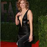 Hilary Swank shows her body at the Vanity Fair Oscar party 2010  56520