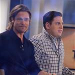 Brad Pitt and Jonah Hill on The Today Show 104596
