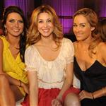 Lauren Conrad Audrina Patridge Whitney Port The Hills premiere party New York 18679