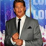 David Hasselhoff promotes Britain's Got Talent 83177