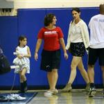 Katie Holmes and Suri at a gym in NYC 124147