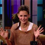 Katie Holmes on The Tonight Show  91131