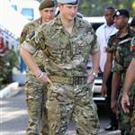 Prince Harry visits Up Park Camp on in Kingston, Jamaica 108383