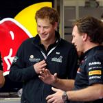 Prince Harry at the British F1 Grand Prix  89650