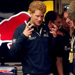Prince Harry at the British F1 Grand Prix  89655