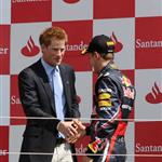 Prince Harry at the British F1 Grand Prix  89659