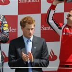 Prince Harry at the British F1 Grand Prix  89661