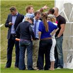 Prince Harry hangs out with Zara Phillips and Mike Tindall 87796