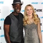 Don Cheadle and Kristen Bell arrive at the premiere screening of House of Lies 102218