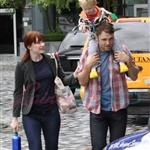 Bryce Dallas Howard with family in Vancouver 46133
