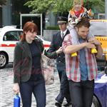 Bryce Dallas Howard with family in Vancouver 46135