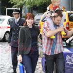Bryce Dallas Howard with family in Vancouver 46136
