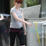 Bryce Dallas Howard after a workout in Vancouver prepping for Eclipse 44099