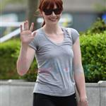 Bryce Dallas Howard after a workout in Vancouver prepping for Eclipse 44096