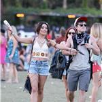 Vanessa Hudgens and Josh Hutcherson at Coachella  83336