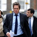 Hugh Grant arrives at court to give evidence at The Leveson Inquiry  98942